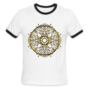 Vines on the Round - Men's Ringer T-Shirt