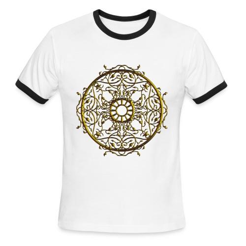 Vines on the Round - Men's Ringer T-Shirt