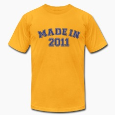 Gold Made in 2011 T-Shirts