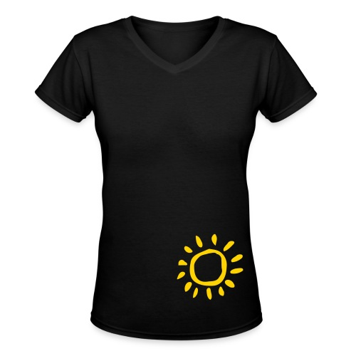 sunshine(: - Women's V-Neck T-Shirt