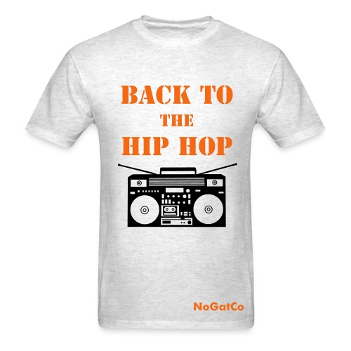 Back to the Hip Hop - Men's T-Shirt