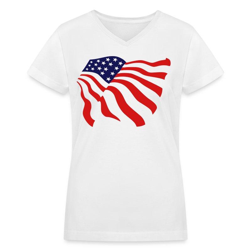 American Flag T Shirt Spreadshirt