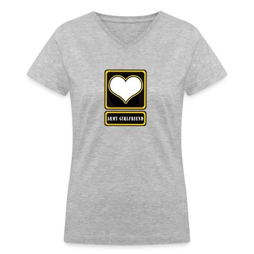 Army GF V Neck Tee - Women's V-Neck T-Shirt