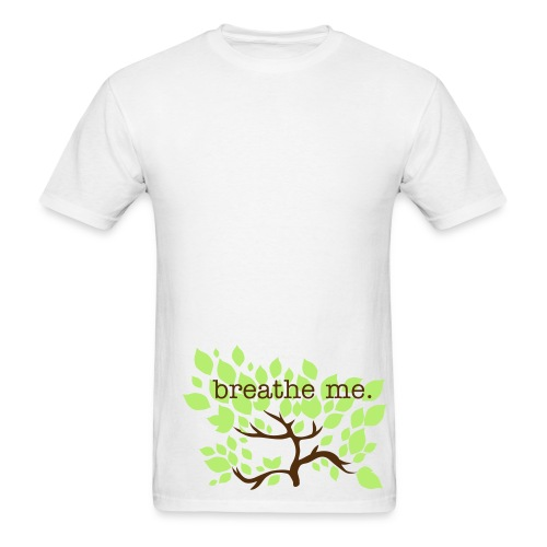 breathe me - Men's T-Shirt