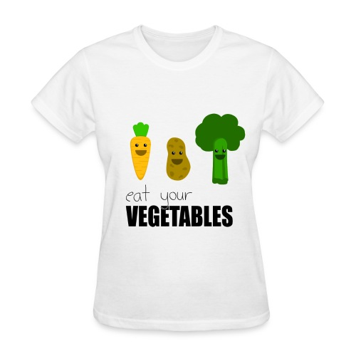 Eat your vegetables! - Women's T-Shirt