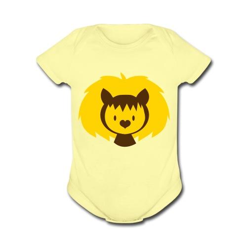 Little Leo - Organic Short Sleeve Baby Bodysuit