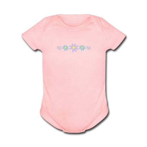 Daisy Chain - Organic Short Sleeve Baby Bodysuit