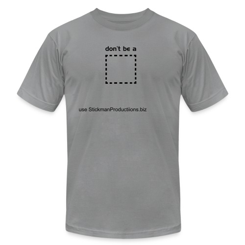 S/S Don't Be A Square - Men's Fine Jersey T-Shirt
