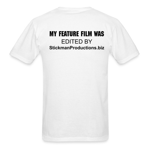 S/S My Feature was Edited by... - Men's T-Shirt