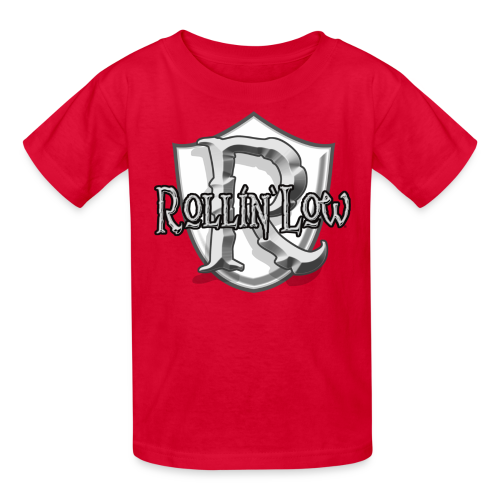 Rollin Low Shield  - Kids' T-Shirt