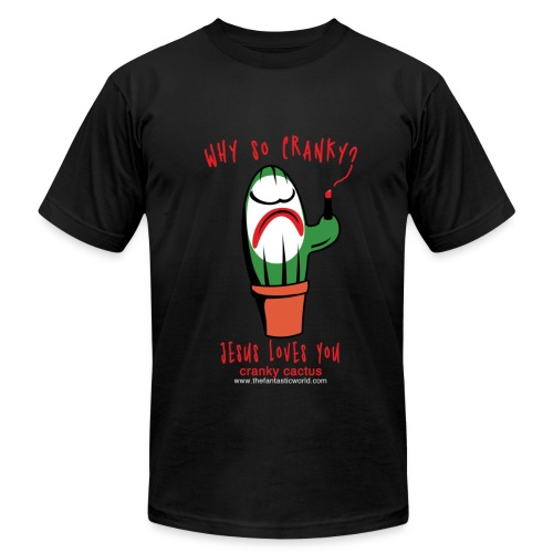 Why So Cranky? - Men's Fine Jersey T-Shirt