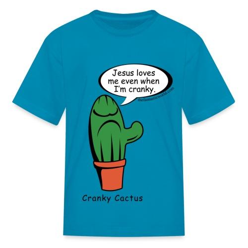 Jesus loves me even when I'm cranky - Kids' T-Shirt
