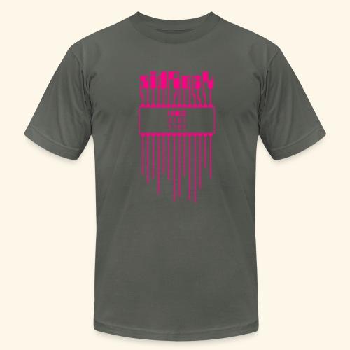 sidRock (neon) - Men's Fine Jersey T-Shirt