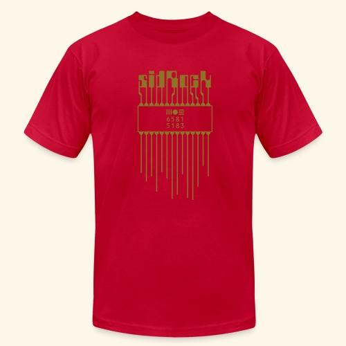 sidRock (gold) - Men's Fine Jersey T-Shirt