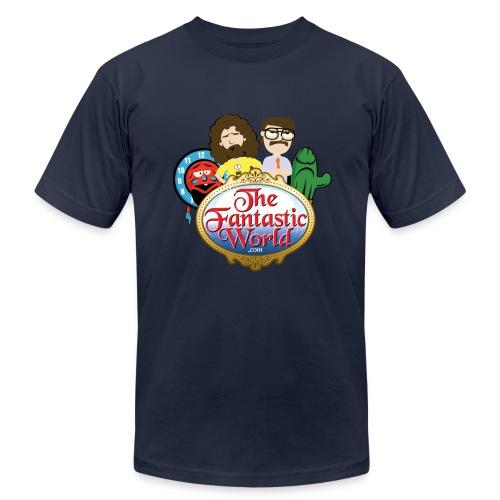 Logo and Friends - Men's Fine Jersey T-Shirt