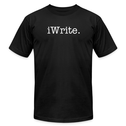 iWrite. (The iTee Series) - Men's  Jersey T-Shirt
