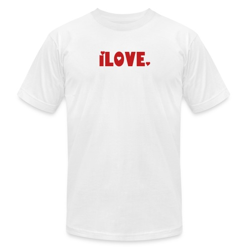 iLOVE. (The iTee Series) - Men's  Jersey T-Shirt