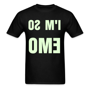 I'M SO EMO (Glow In The Dark!) (M) - Men's T-Shirt