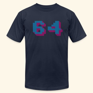 64K - Men's T-Shirt by American Apparel