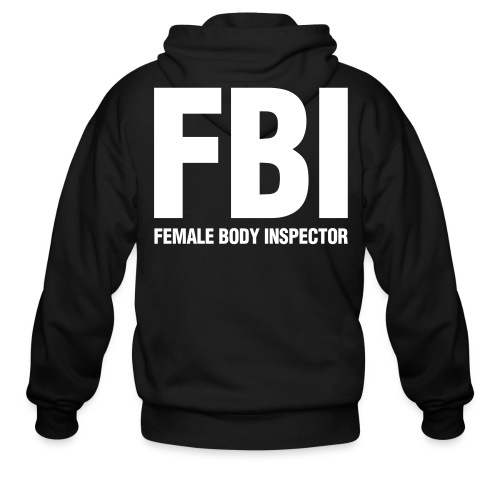 FBI - Men's Zip Hoodie