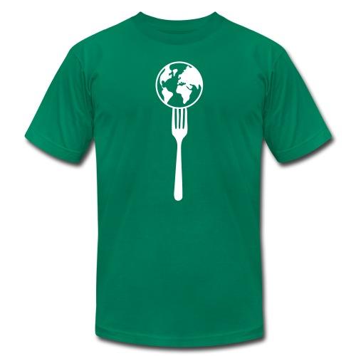 Eat the world - Men's Fine Jersey T-Shirt