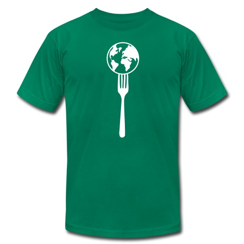 Eat the world - Men's  Jersey T-Shirt