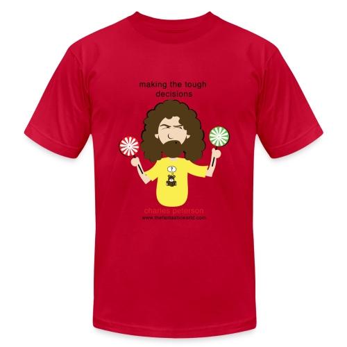 Tough Decisions! - Men's Fine Jersey T-Shirt
