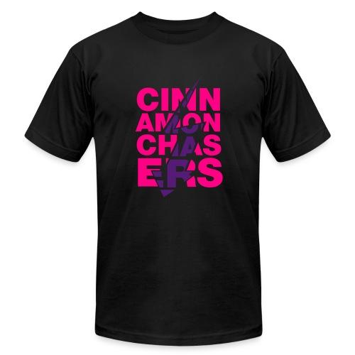 CINNAMON CHASERS (Lightning BOLT) Mens Black  - Men's  Jersey T-Shirt
