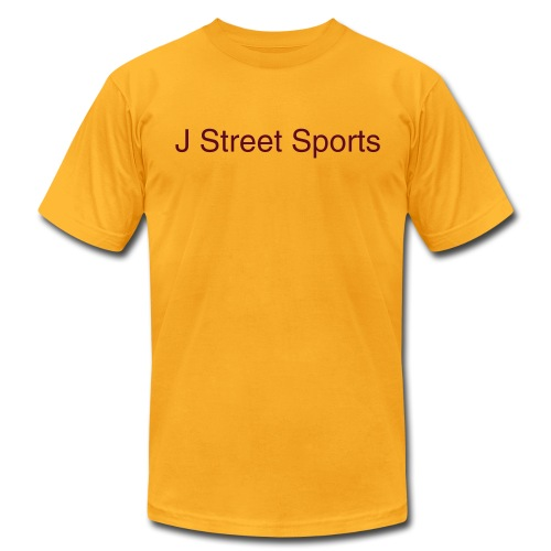 J Street Sports Gold Tee - Men's Fine Jersey T-Shirt