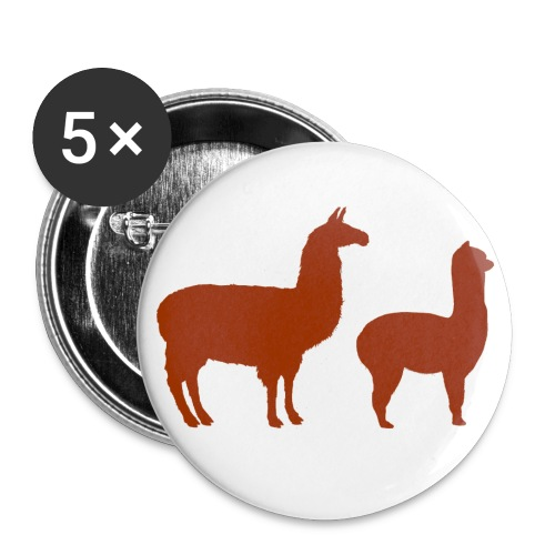 2 Llama Button - Small Buttons