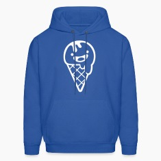 Royal blue ice cream summer soft Hoodies