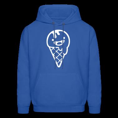 Royal blue ice cream summer soft Hoodies