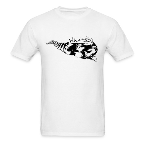Train White Men - Men's T-Shirt