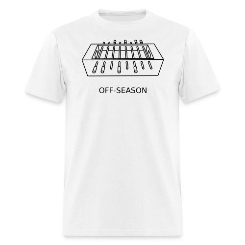 Off-Season, black - Men's T-Shirt