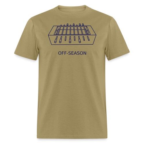 Off-Season, navy - Men's T-Shirt