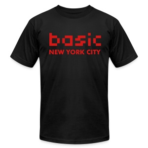 Basic NYC Men's T-Shirt  - Men's T-Shirt by American Apparel