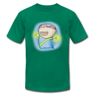 T-Shirts ~ Men's T-Shirt by American Apparel ~ Charles the Raver Tee