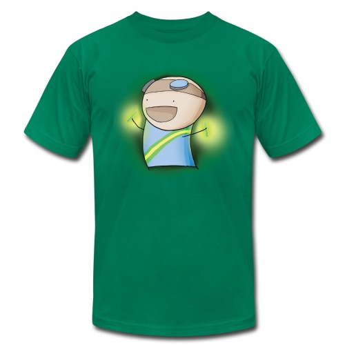 Charles the Raver Tee - Men's Fine Jersey T-Shirt