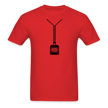 Red stopwatch timer T-Shirts