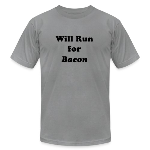 Will Run For Bacon - Men's  Jersey T-Shirt