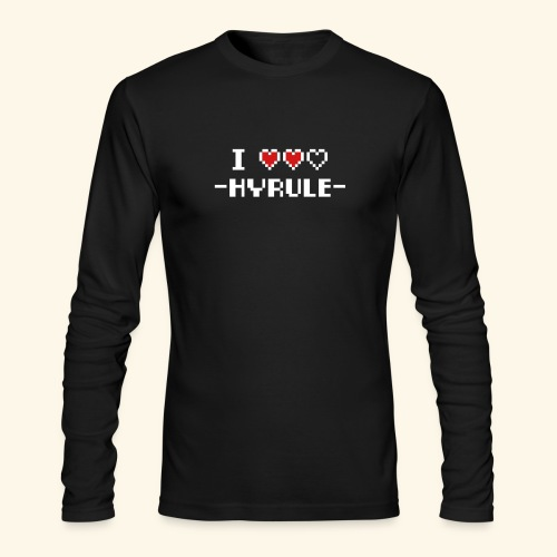 I Love Hyrule - Men's Long Sleeve T-Shirt by Next Level