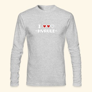I Love Hyrule - Men's Long Sleeve T-Shirt by Next Level