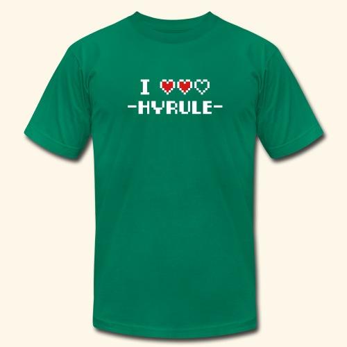 I Love Hyrule - Men's Fine Jersey T-Shirt