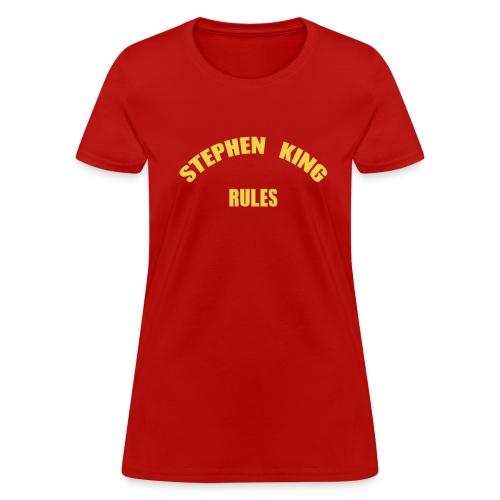 Women's - Stephen King Rulss - Standard - Women's T-Shirt