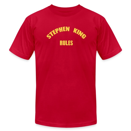 Men's - Stephen King Rules - American Apparel - Men's Fine Jersey T-Shirt