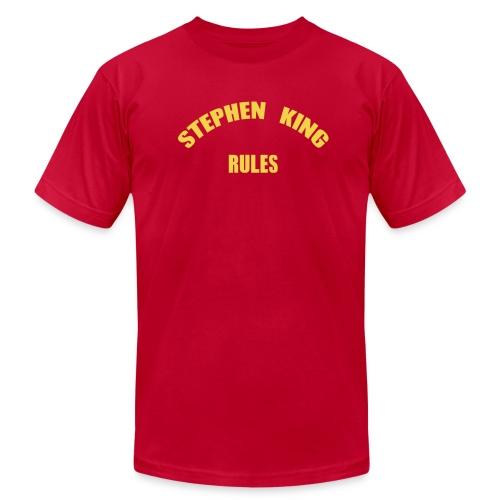 Men's - Stephen King Rules - American Apparel - Men's  Jersey T-Shirt