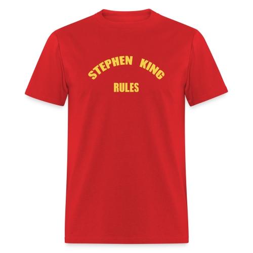Men's - Stephen King Rules - Standard - Men's T-Shirt