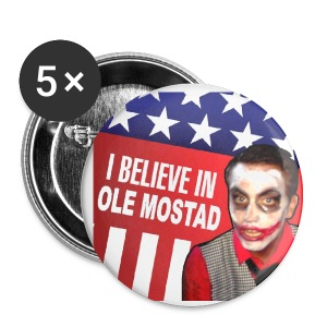 I Believe in Ole Mostad - Small Buttons