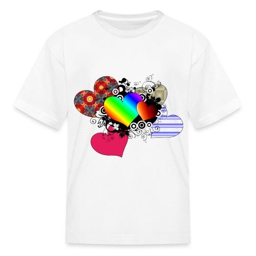 1000 hearts - Kids' T-Shirt