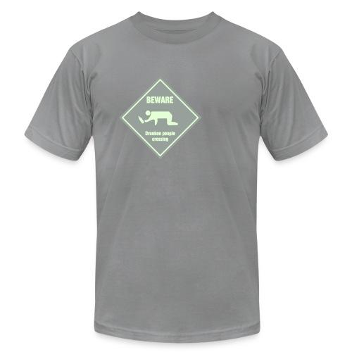 Drunken People Crossing - Men's Fine Jersey T-Shirt
